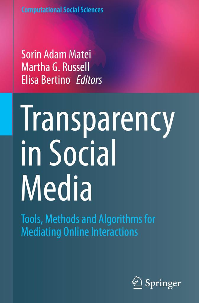 Transparency in Social Media als Buch von
