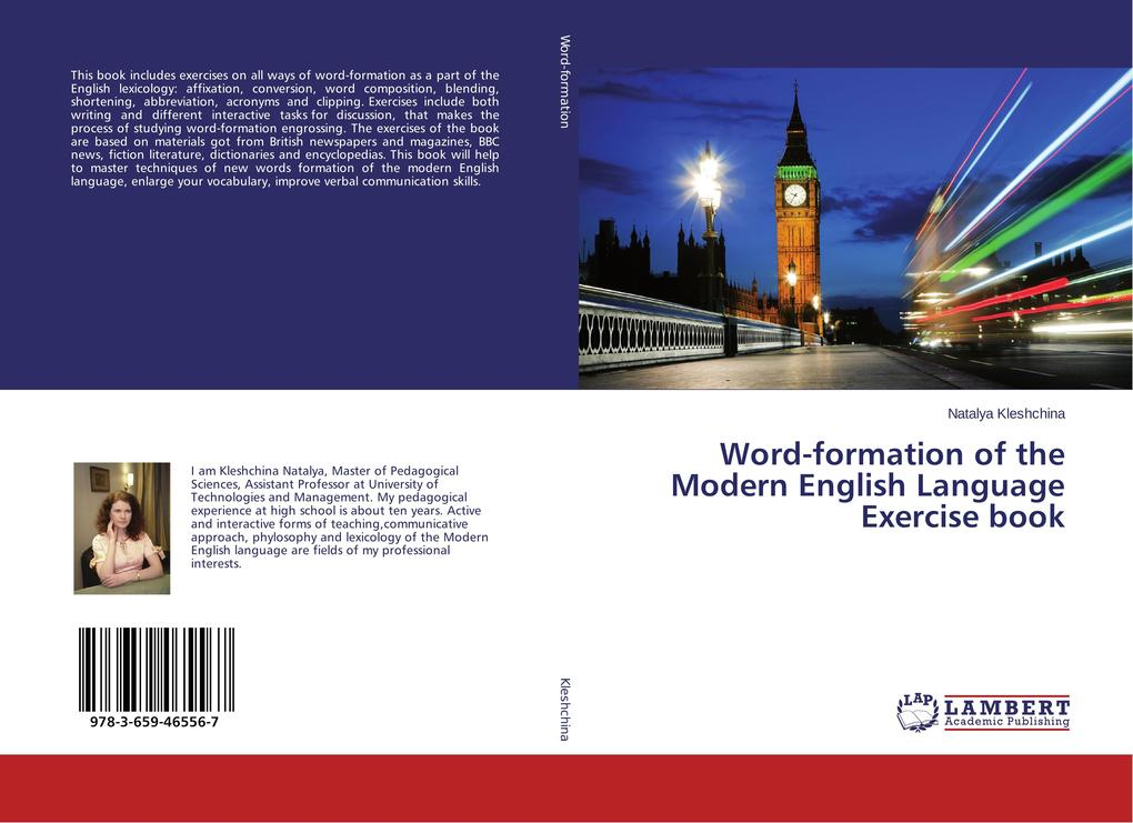 Word-formation of the Modern English Language E...