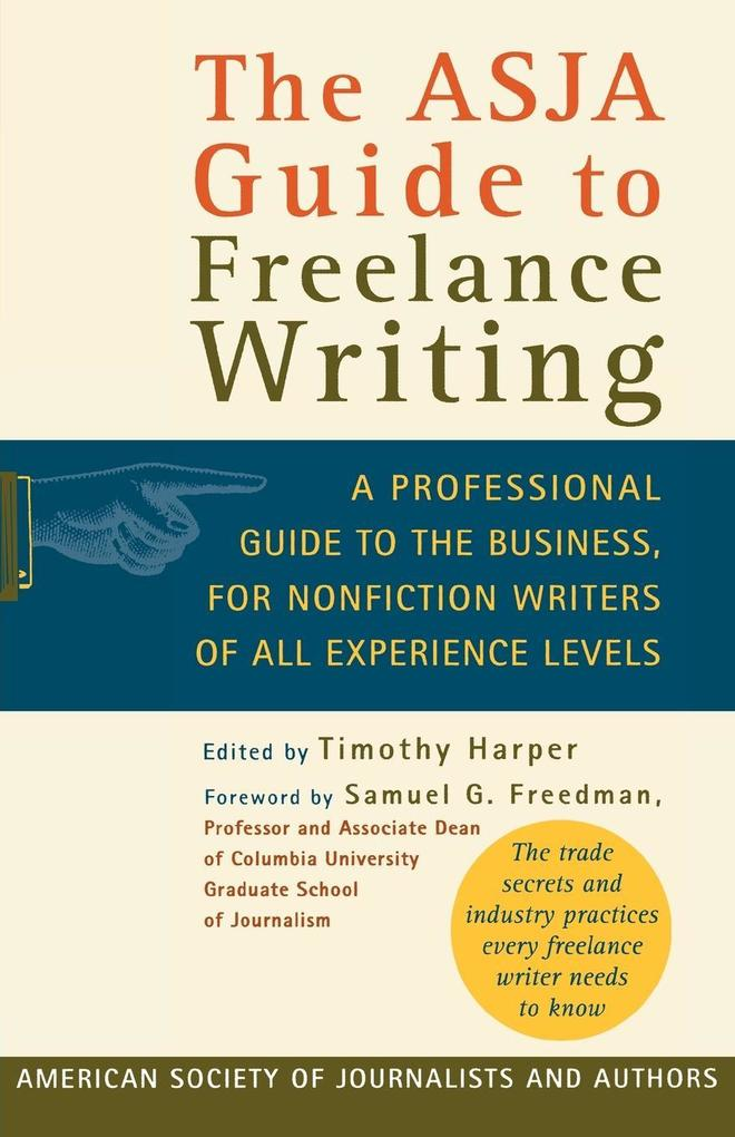The Asja Guide to Freelance Writing als Taschenbuch