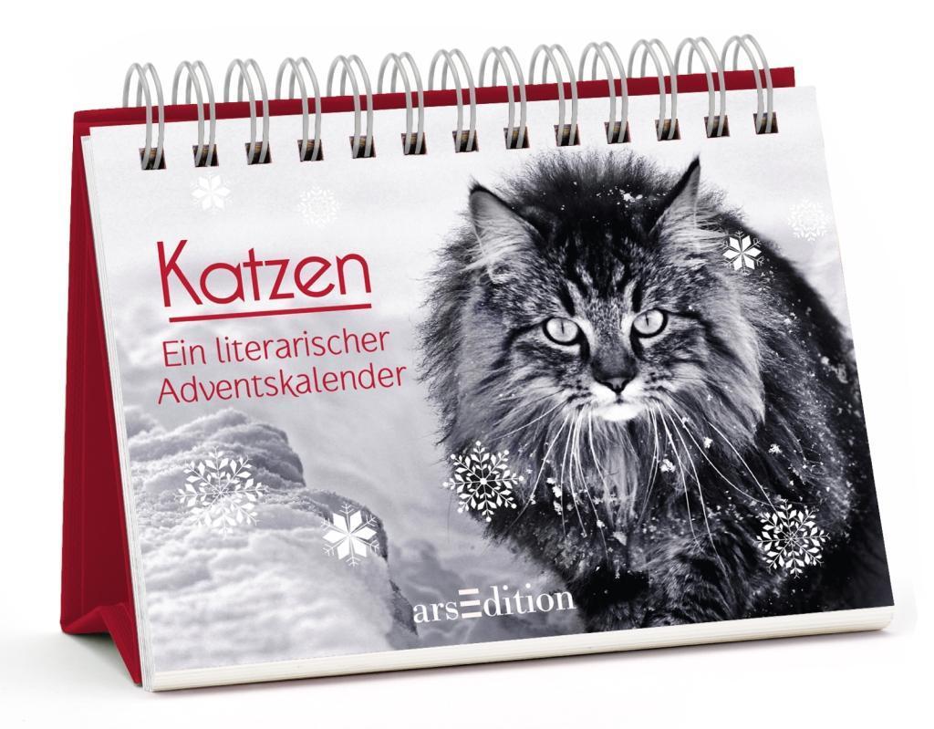 Katzen. Ein literarischer Adventskalender