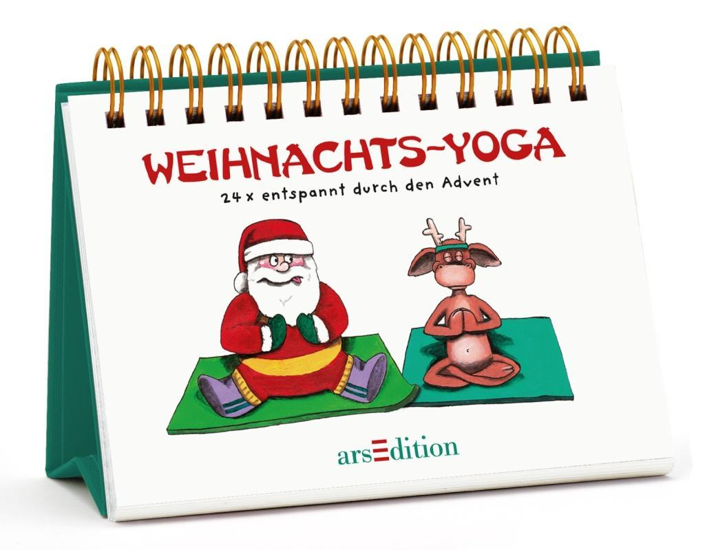 weihnachts yoga kalender monika rothenaicher. Black Bedroom Furniture Sets. Home Design Ideas