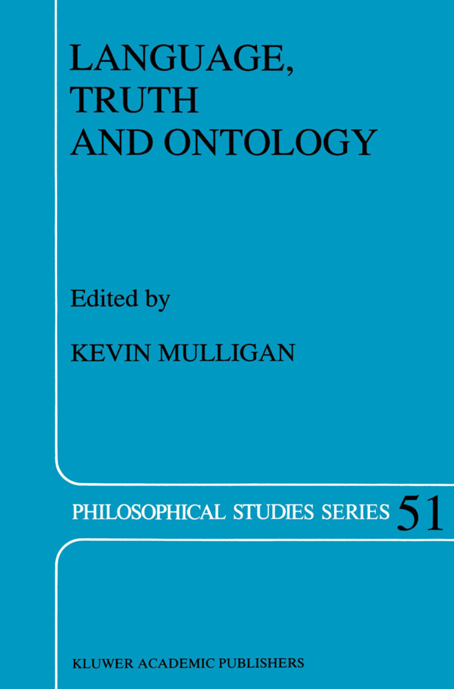 Language, Truth and Ontology als Buch