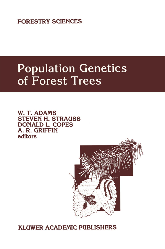 Population Genetics of Forest Trees als Buch