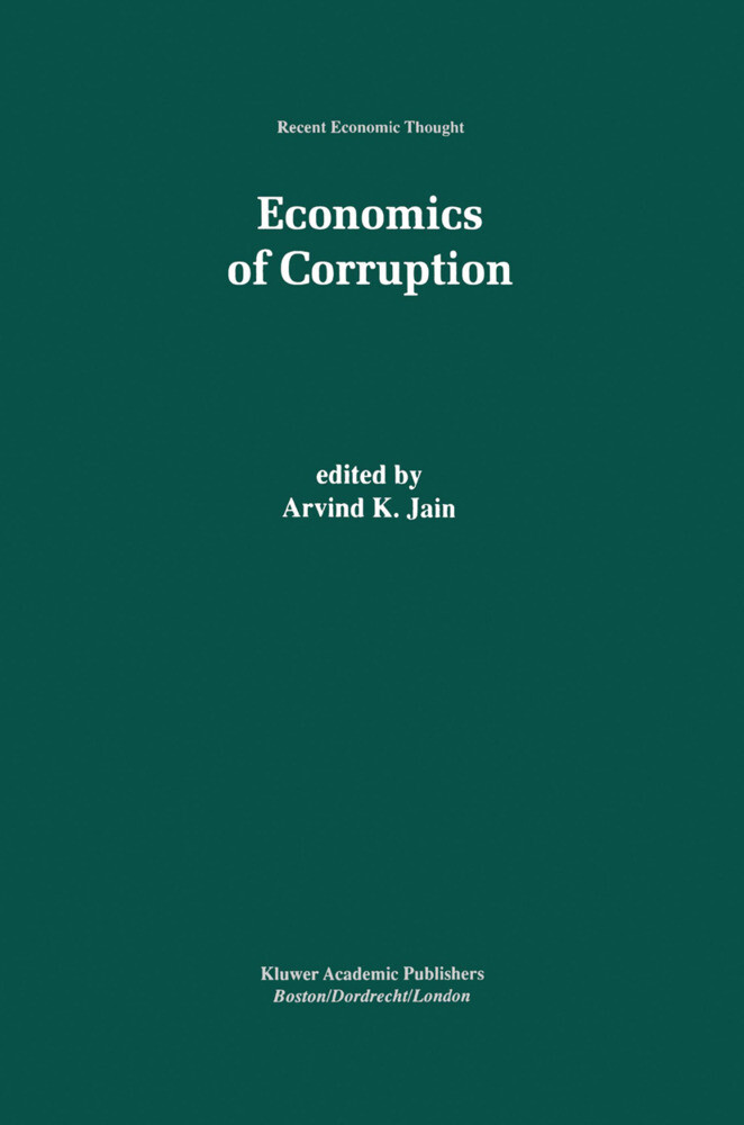 Economics of Corruption als Buch