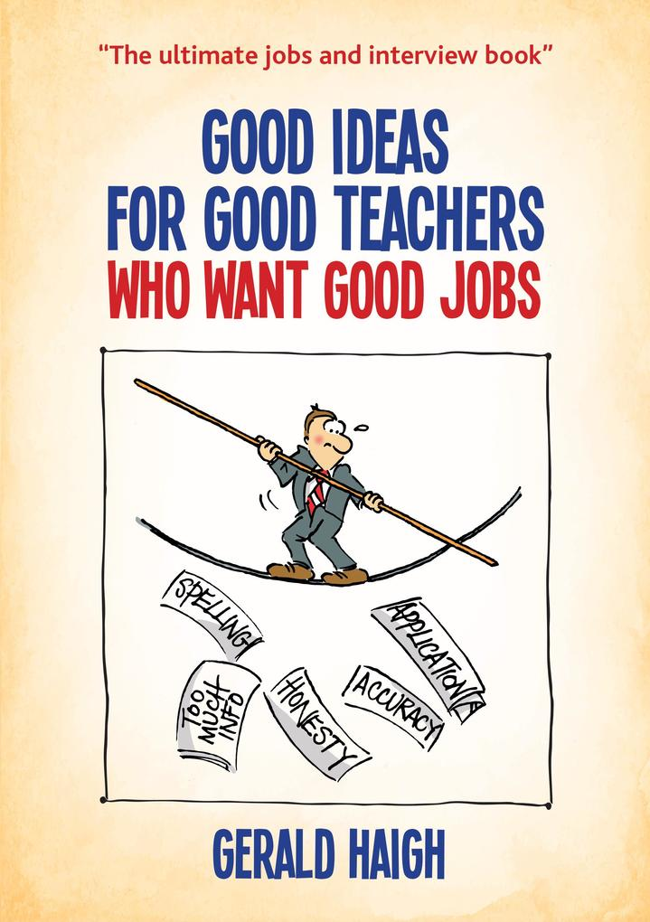 Good ideas for good teachers who want good jobs...
