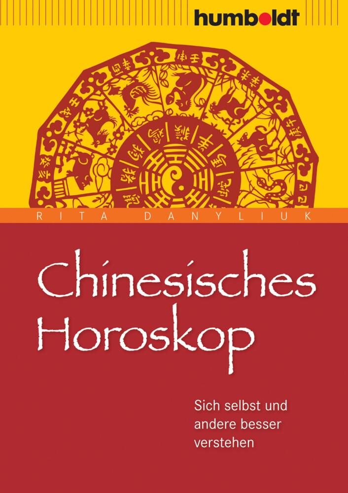 Chinesisches Horoskop als Buch von Rita Danyliuk
