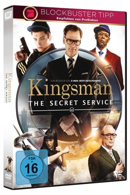 Kingsman - The Secret Service als DVD