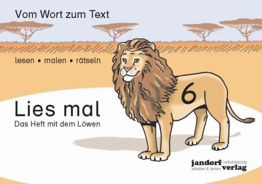 Lies mal 6 - Das Heft mit dem Löwen als Buch