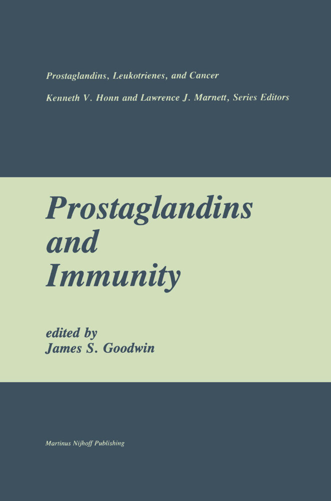 Prostaglandins and Immunity als Buch