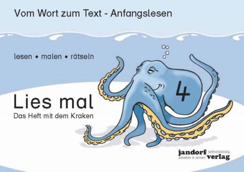 Lies mal 4 - Das Heft mit dem Kraken als Buch