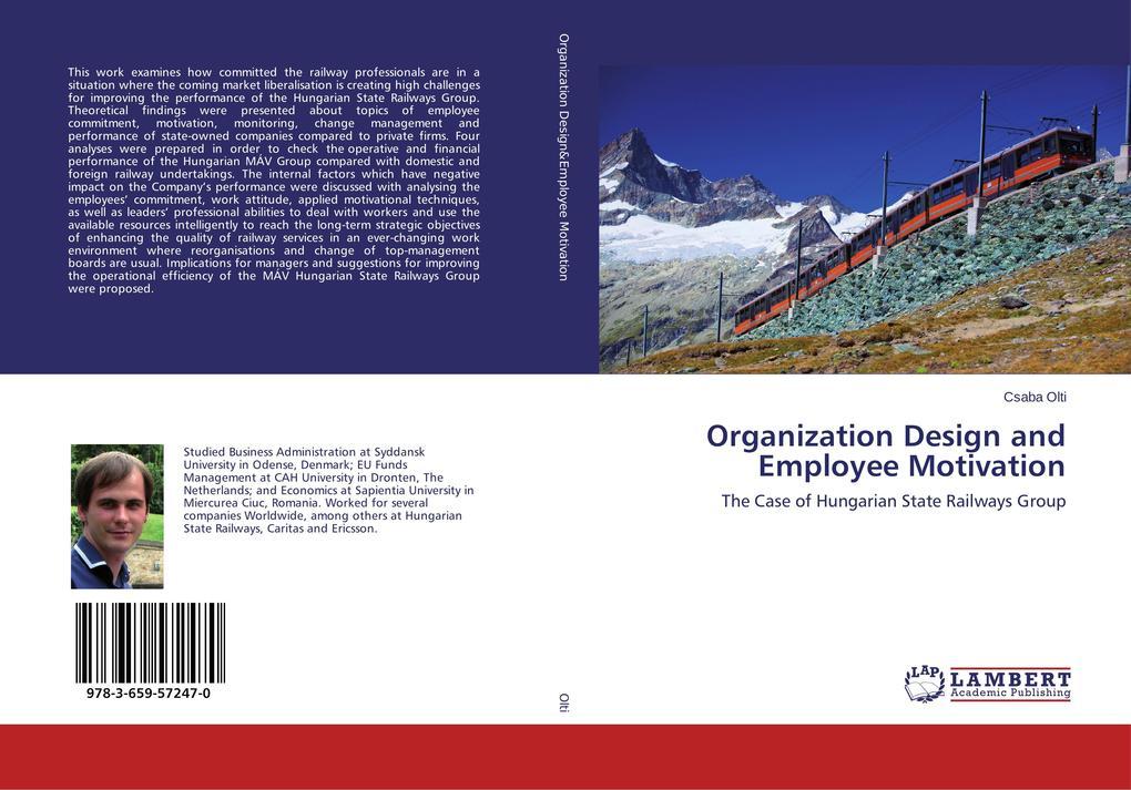 Organization Design and Employee Motivation als...