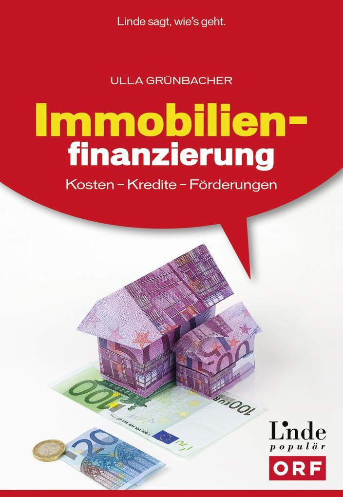 Immobilienfinanzierung als eBook Download von U...