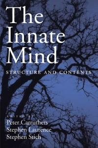 Innate Mind: Structure and Contents als eBook D...
