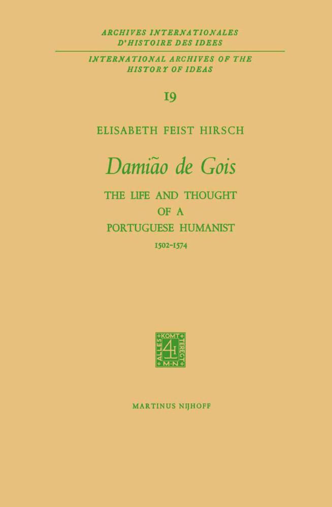 Damião de Gois als Buch