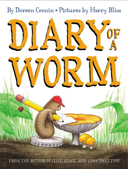 Diary of a Worm als Buch