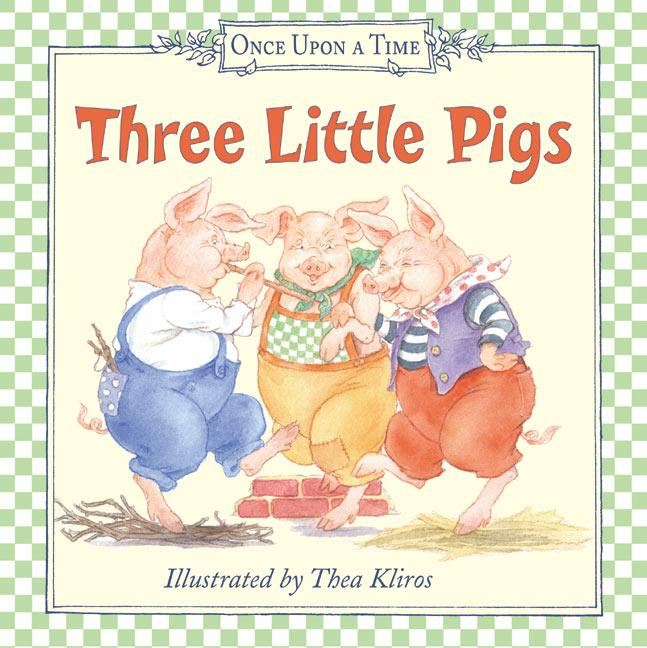 Three Little Pigs als Buch