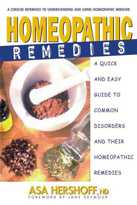 Homeopathic Remedies als eBook Download von Asa...