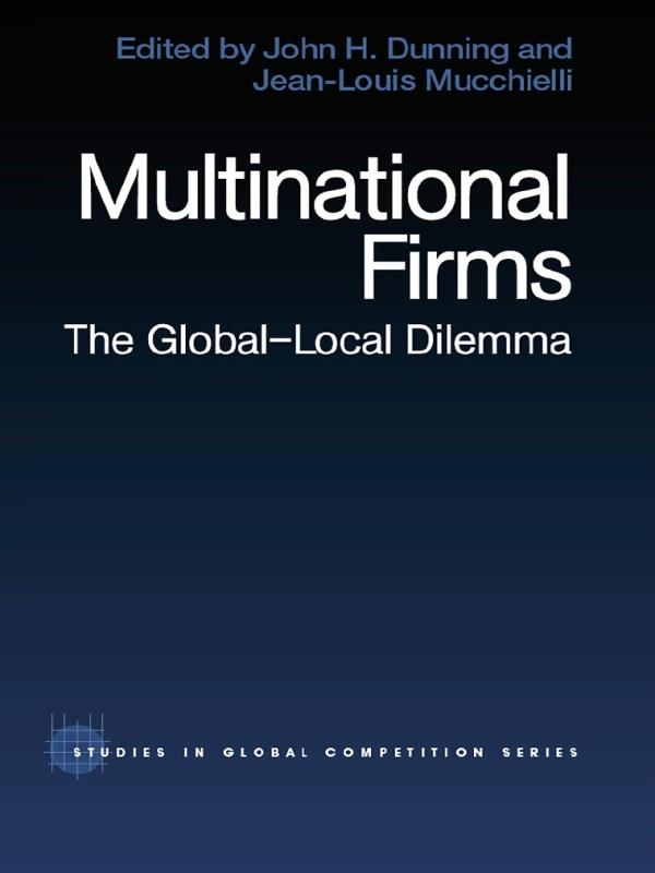 Multinational Firms als eBook Download von