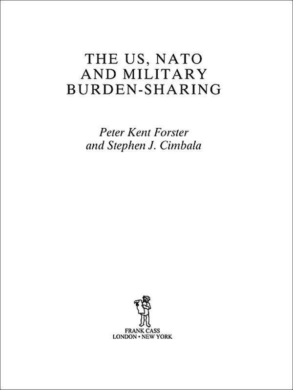 US, NATO and Military Burden-Sharing als eBook ...