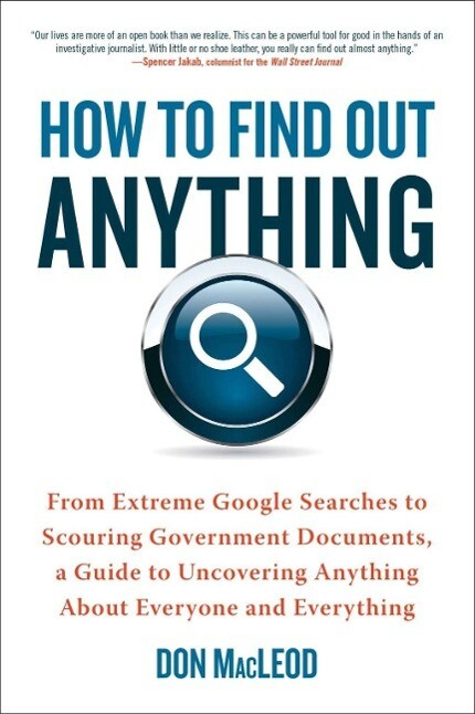 How to Find Out Anything als eBook Download von...