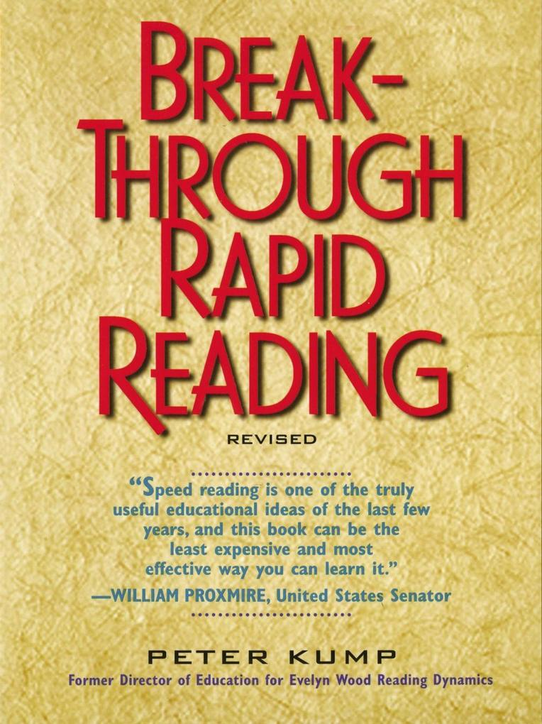 Breakthrough Rapid Reading als eBook Download v...