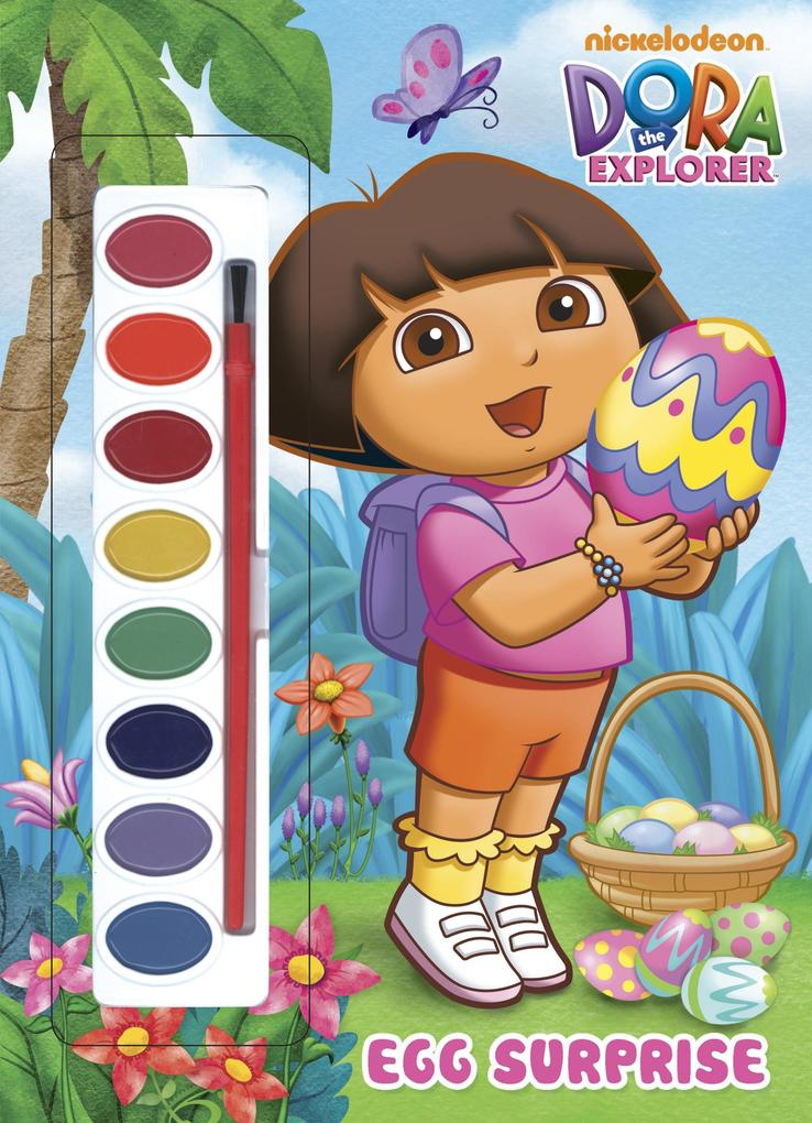 Egg Surprise (Dora the Explorer) [With Paint Brush and Paint] als Taschenbuch