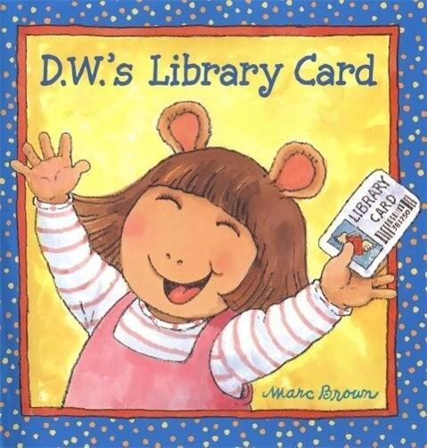 D.W.'s Library Card als Taschenbuch