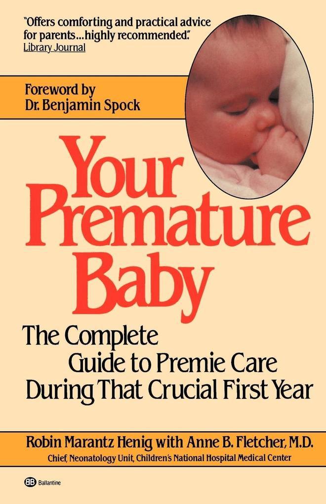 Your Premature Baby als Taschenbuch