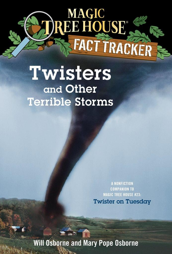 Magic Tree House Fact Tracker #8 Twisters And Other TerribleStorms als Taschenbuch
