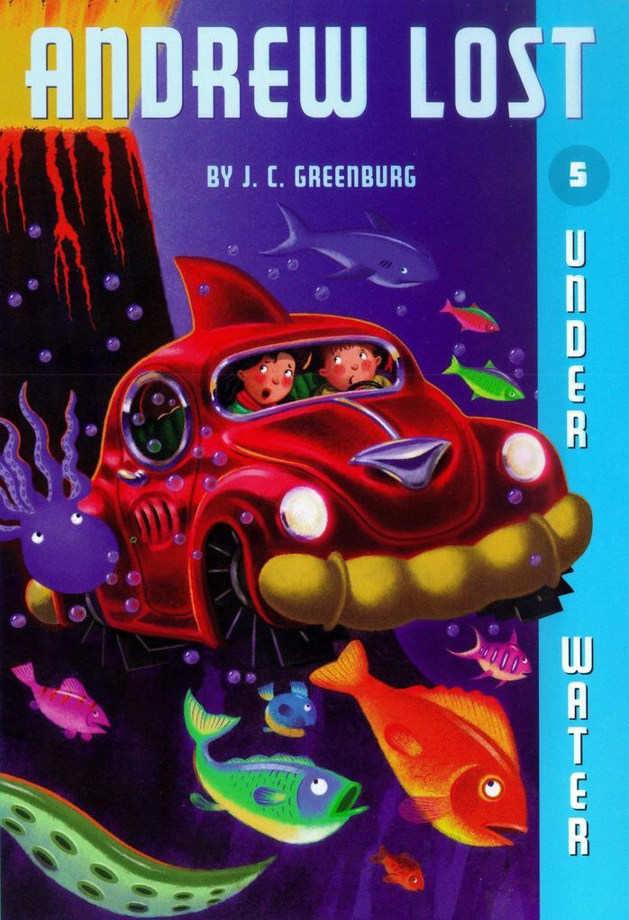 Andrew Lost #5: Under Water als Taschenbuch