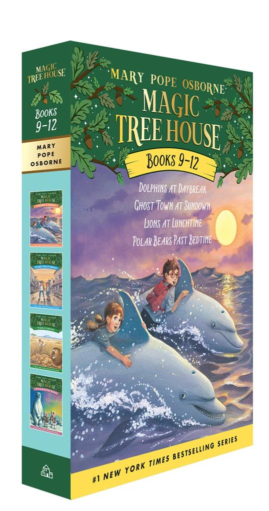 The Magic Tree House 09-12 als Taschenbuch
