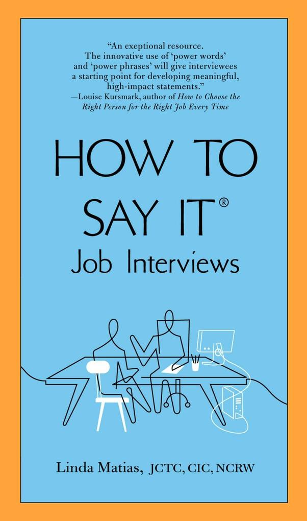 How to Say It Job Interviews als eBook Download...