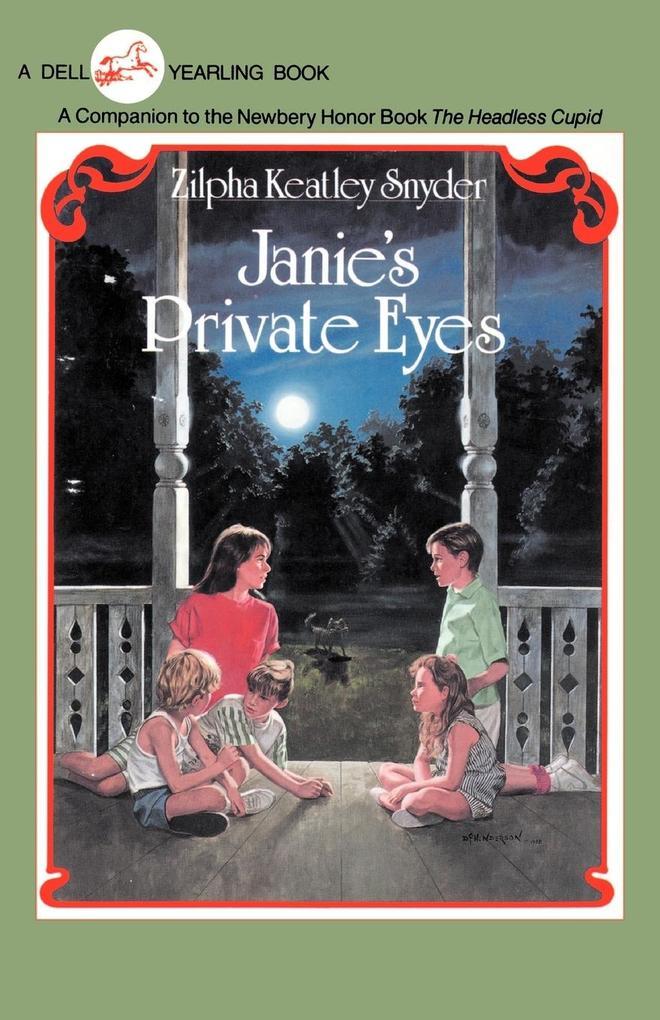 Janie's Private Eyes als Taschenbuch