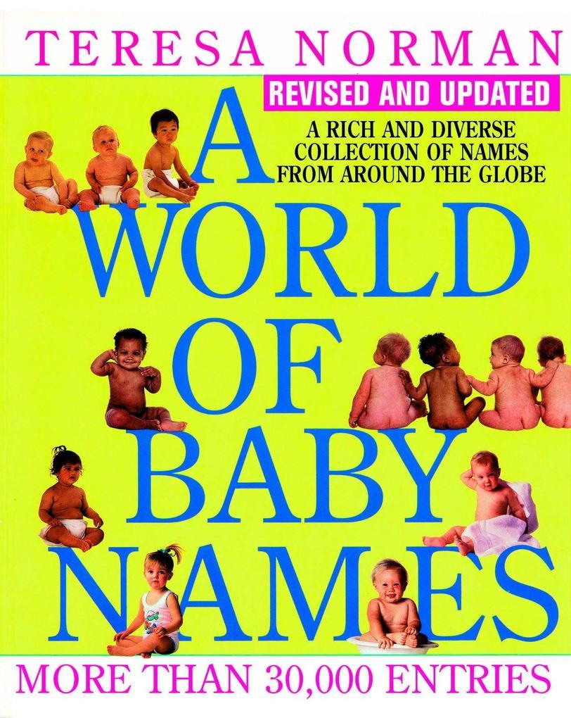 A World of Baby Names als Taschenbuch