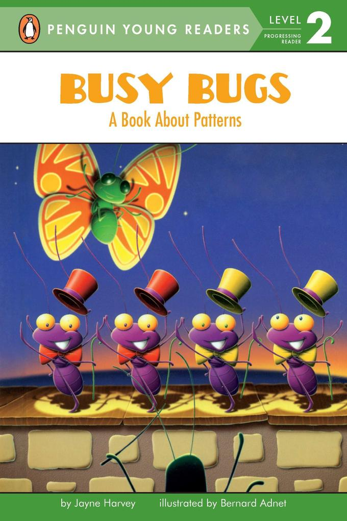 Busy Bugs: A Book about Patterns als Taschenbuch