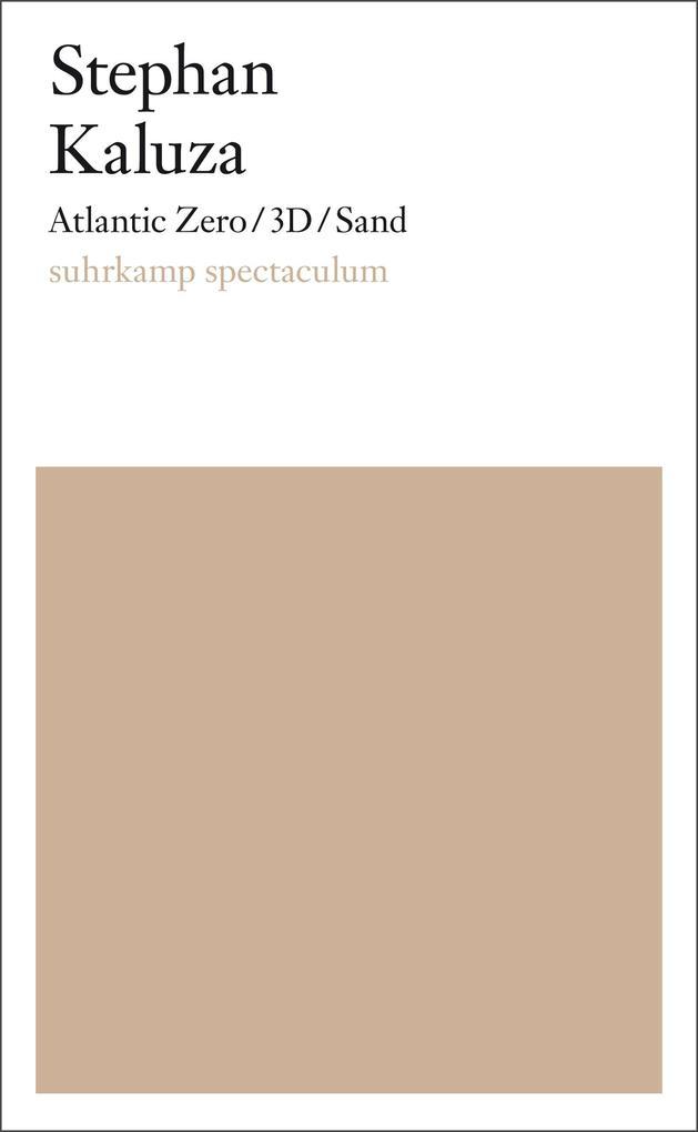 Atlantic Zero/3D/Sand als eBook