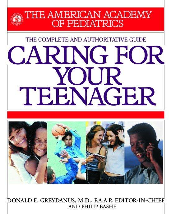 American Academy of Pediatrics Caring for Your Teenager als Taschenbuch