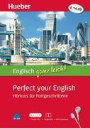 Englisch ganz leicht Perfect your English. Paket: 5 Audio-CDs + Begleitheft + MP3-Download