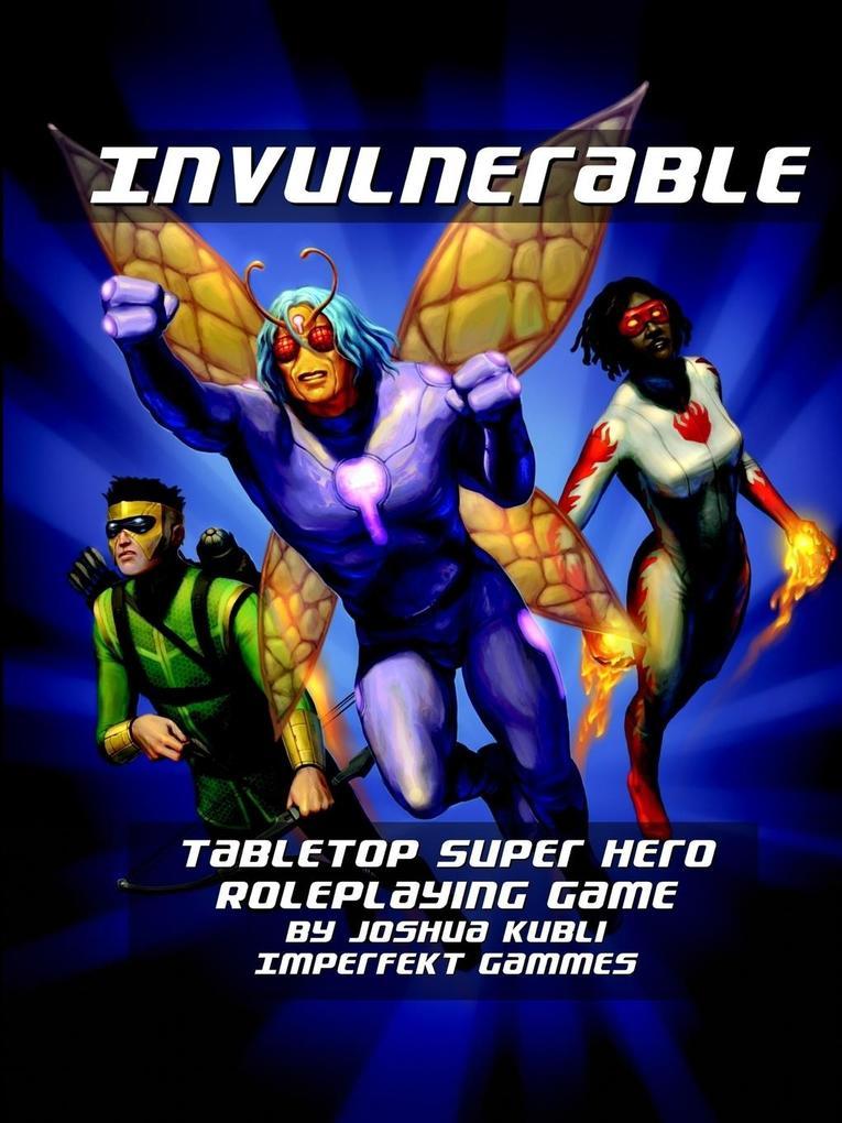 Invulnerable Super Hero RPG Vigilante Edition a...