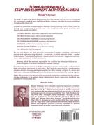 School Administrator's Staff Development Activities Manual