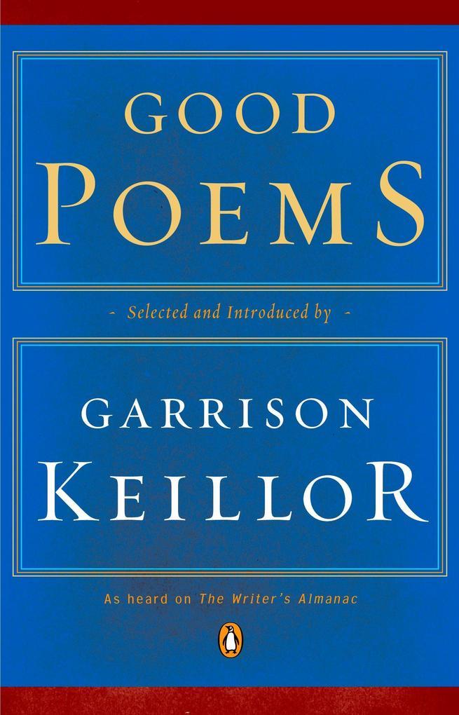 Good Poems als Taschenbuch