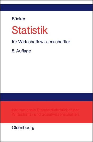 Statistik für Wirtschaftswissenschaftler als Buch