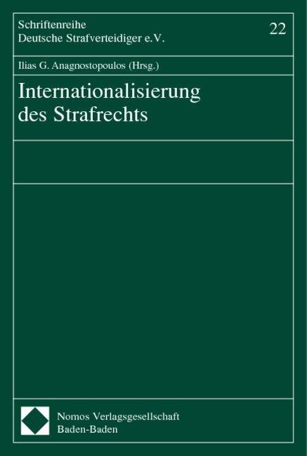 Internationalisierung des Strafrechts als Buch