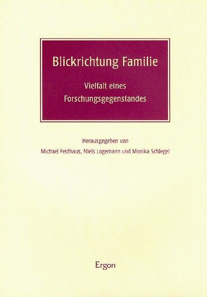 Blickrichtung Familie als Buch