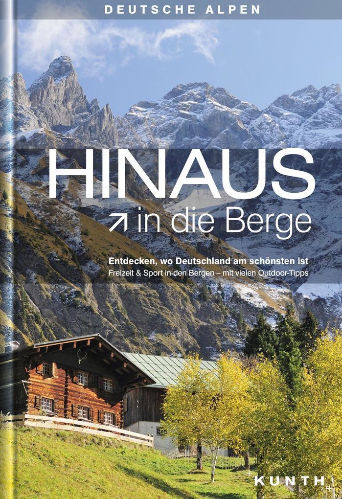 HINAUS in die Berge als Buch von