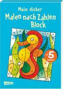 """Mein dicker """"Malen nach Zahlen"""" Block"""