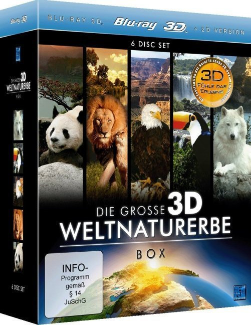 Die große 3D Weltnaturerbe Box