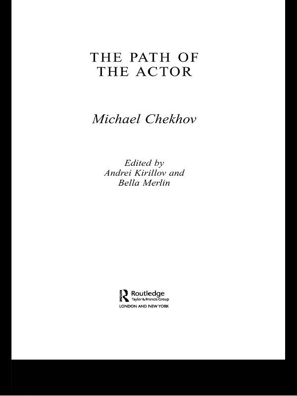 Path Of The Actor als eBook Download von Michae...