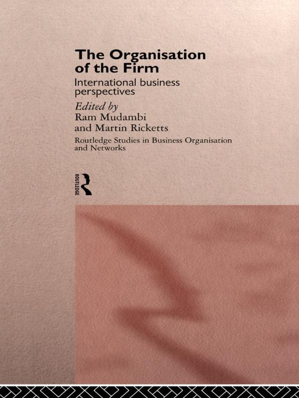Organisation of the Firm als eBook Download von