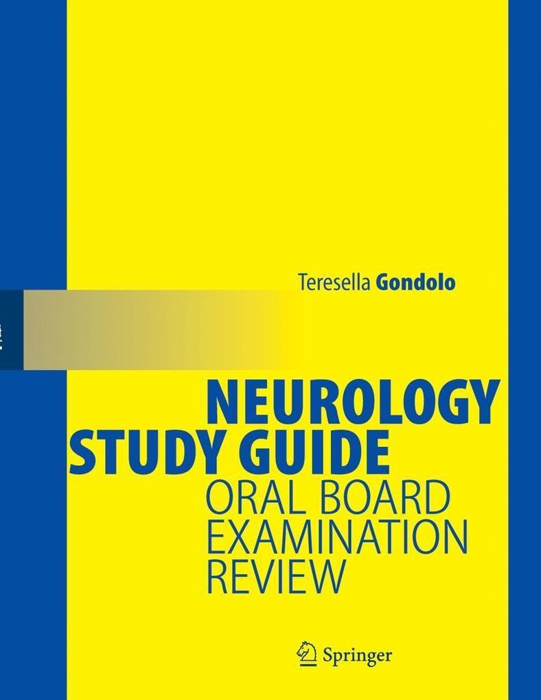 Neurology Study Guide: Oral Board Examination Review als Buch (kartoniert)